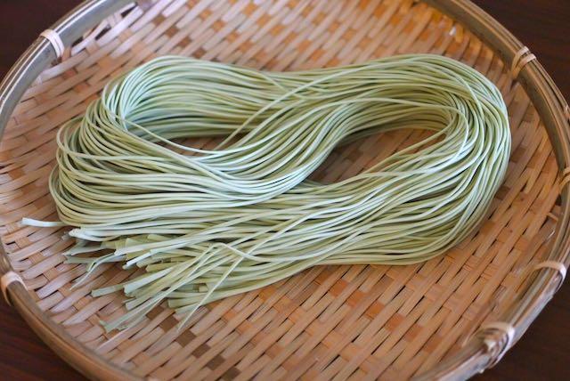 小豆島産オリーヴオイル仕立て 手延べ半生オリーヴそうめん ざる