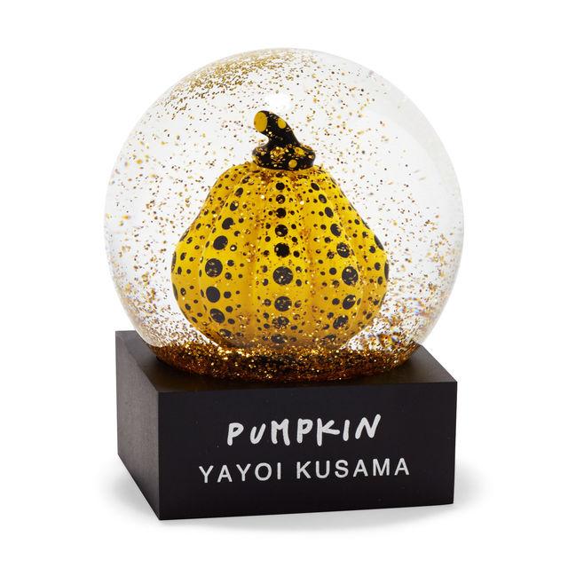 草間彌生 スノードーム パンプキン かぼちゃ 南瓜 黄色いかぼちゃ 黄かぼちゃMoMA Design Store ニューヨーク現代美術館