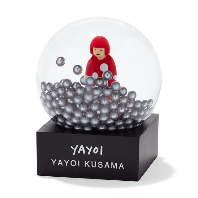 草間彌生 スノードーム 彌生 yayoi くさまやよい MoMA Design Store ニューヨーク現代美術館
