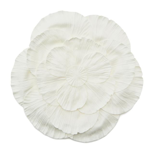 ダリア ランチマット ホワイト