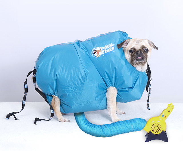 犬用ドライヤー「PUFF-N-FLUFFS」