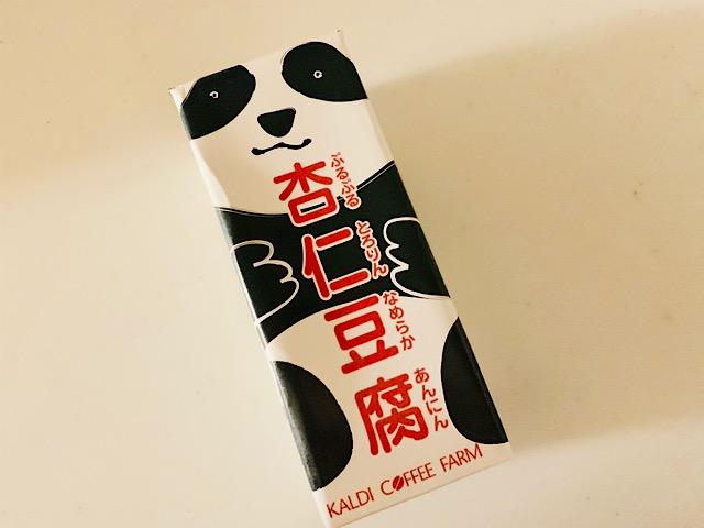 カルディ オリジナル『パンダ杏仁豆腐ミニ』