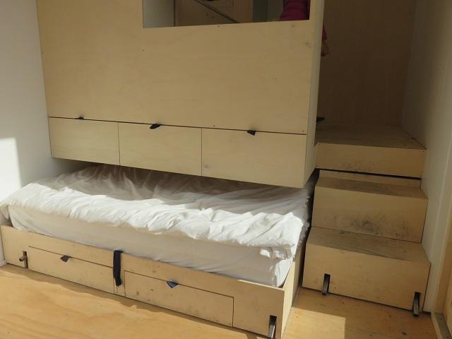 収納できるベッド