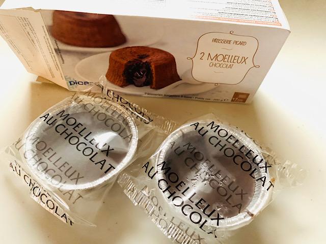 個包装されたモアローショコラ