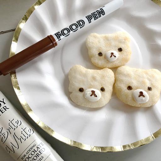 FOODPEN FOOD PEN フードペン お菓子作り デコレーション クッキーデコレーション デコペン アイシングクッキー マシュマロ絵