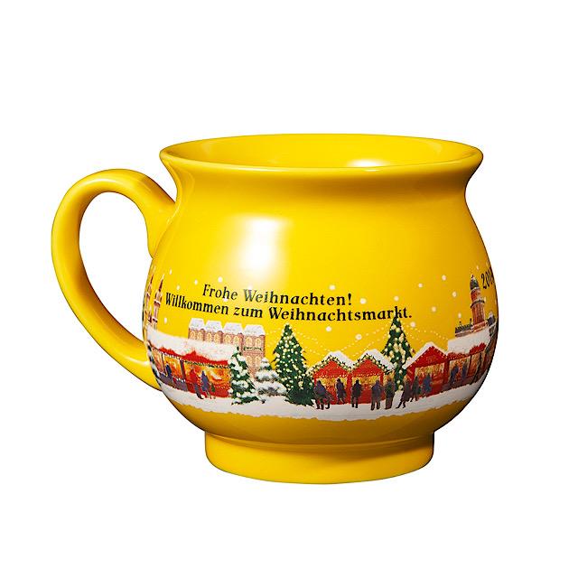 オリジナル グリューワインカップ イエロー