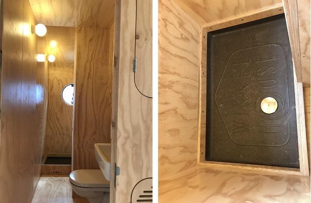 「Wikkel House」のバスルーム