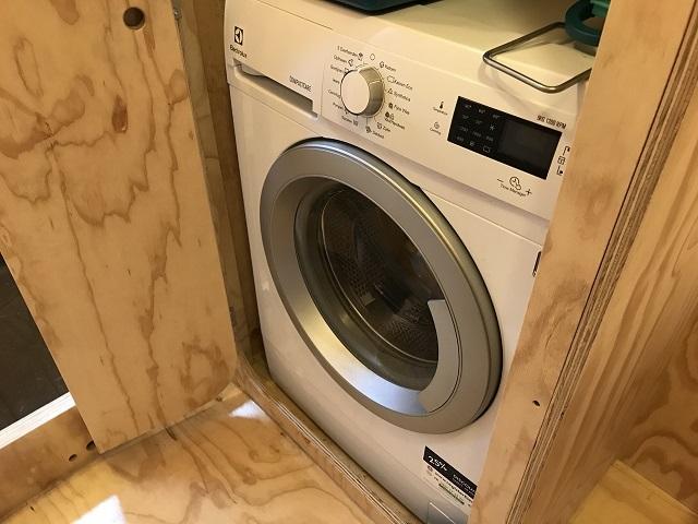 ドラム式洗濯機を設置できる