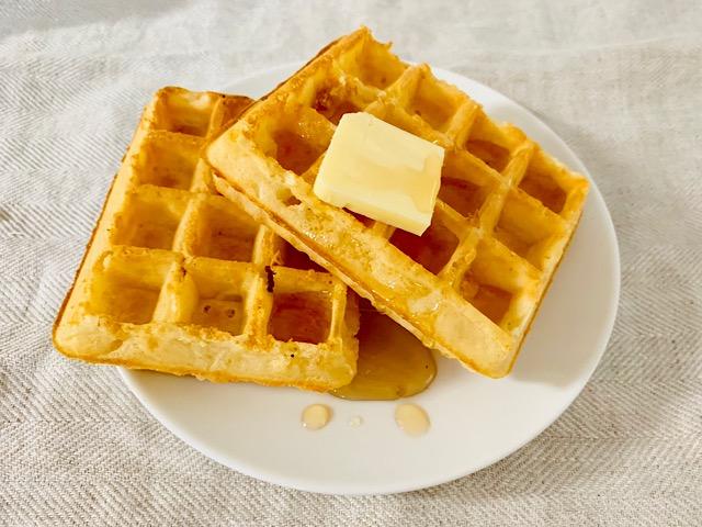 ピカール  ワッフル バターとメイプルシロップ