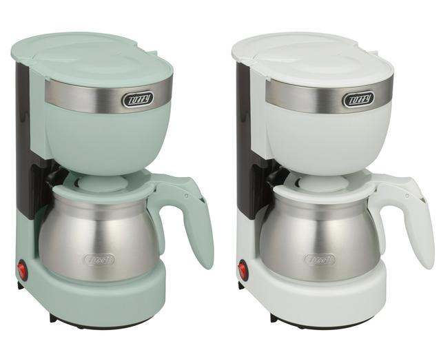コーヒーメーカー ドリップ式 ドリップ式コーヒーメーカー アロマコーヒーメーカー Toffy 5カップアロマコーヒーメーカー ステンレス ステンレスサーバー 5杯