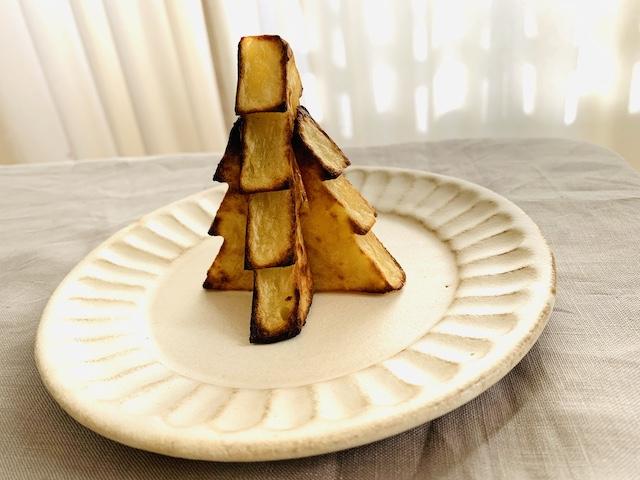 トースターで焼いたモミの木