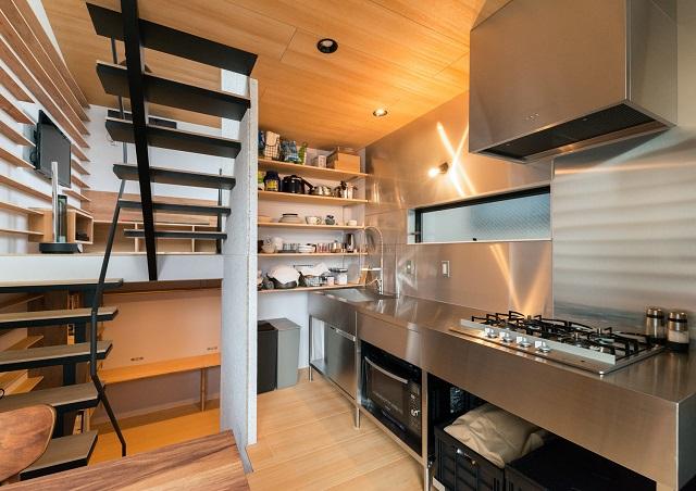 料理が楽しくなりそうなキッチン