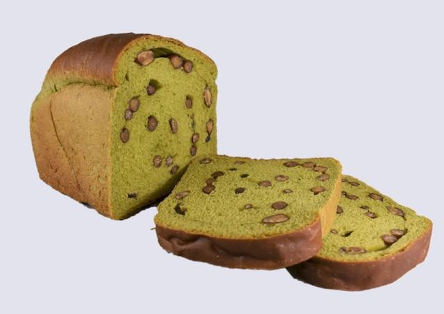 「京都宇治抹茶小豆食パン」