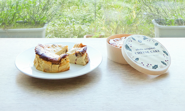 ukafeのチーズケーキ期間限定発売