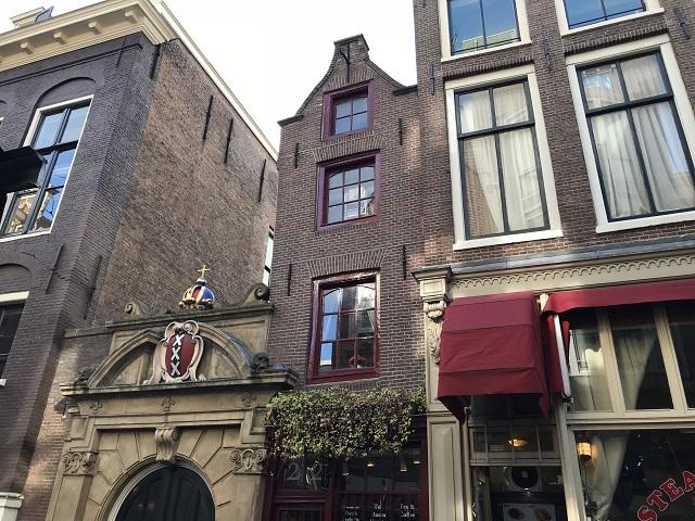 アムステルダムで一番小さい家「Het Kleinste Huis」