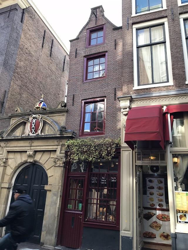 幅2メートル強の「Het Kleinste Huis」