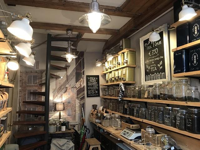 「Het Kleinste Huis」店内の様子