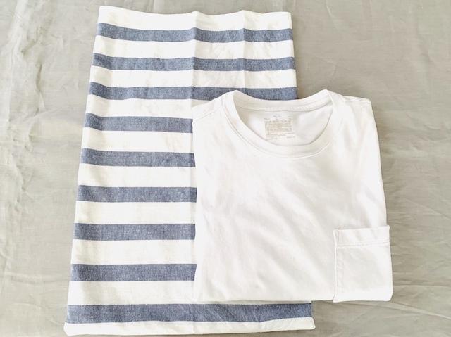袋とTシャツ