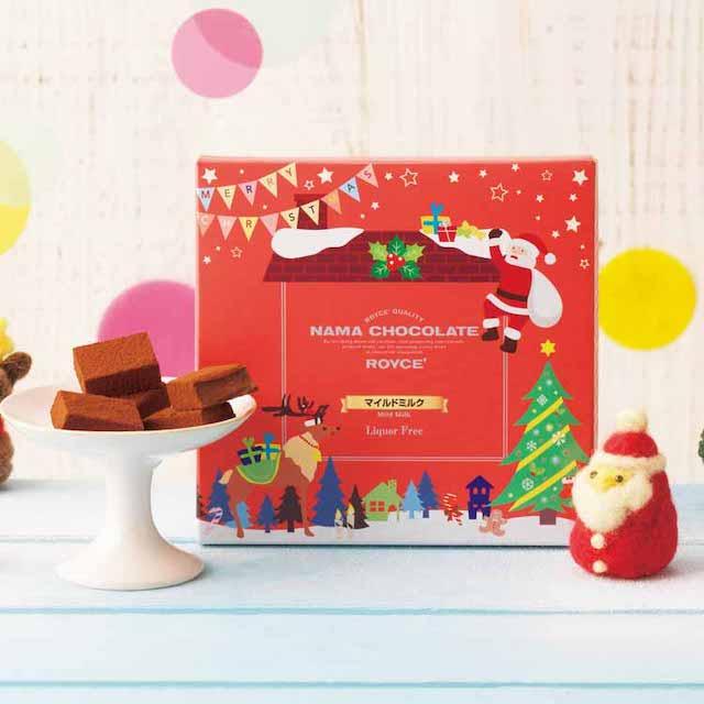 生チョコレートマイルドミルククリスマスパッケージ