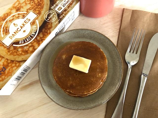 冷凍食品 ピカール パンケーキ