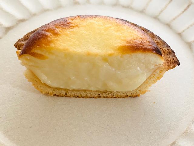 温めたチーズタルト