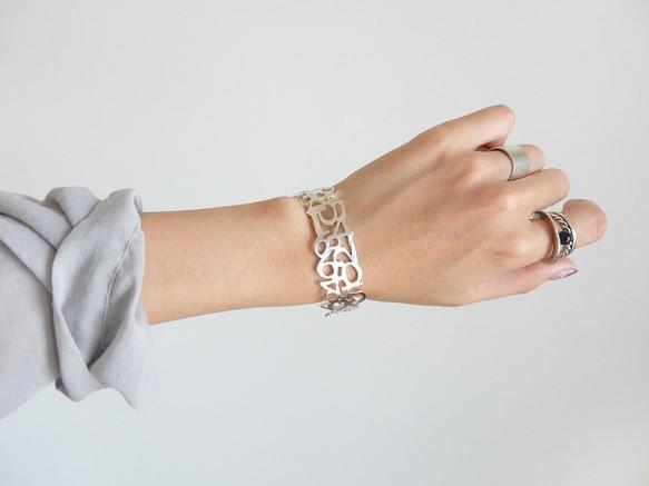 ナンバーバングルS / silver