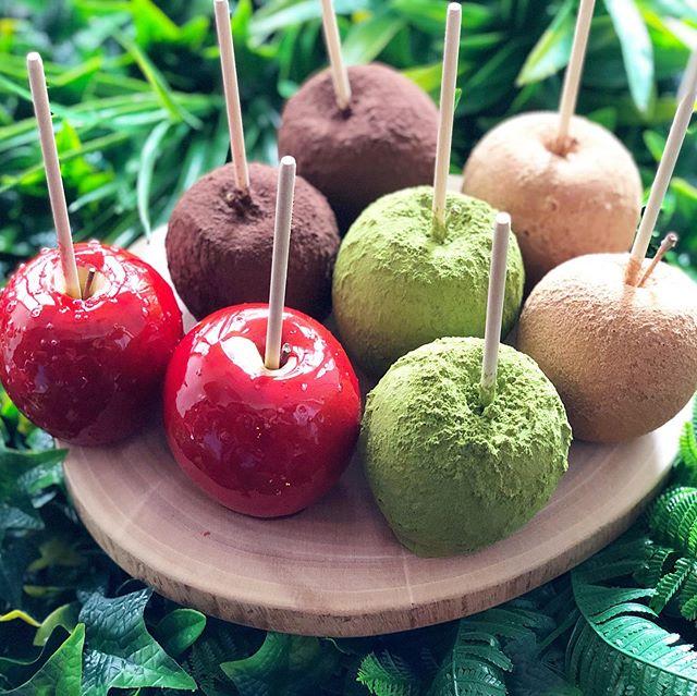 りんご飴4種アップ
