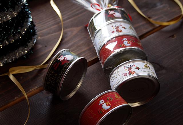 オーシャンプリンセス 贅沢ツナ クリスマス限定3缶セット