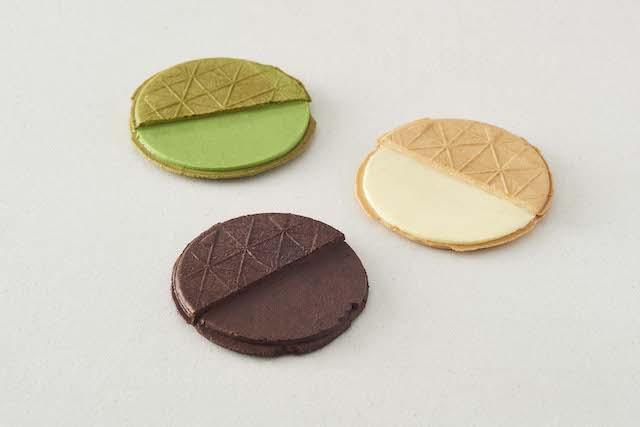3種のサンドクッキー