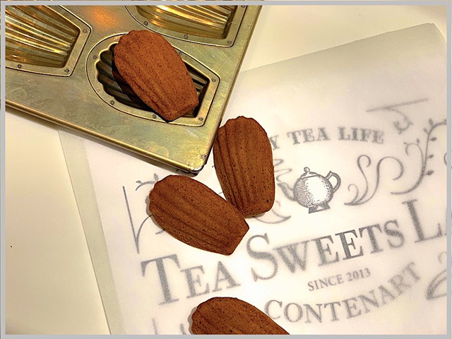 「Tea Sweets Lab. CONTENART」マドレーヌ
