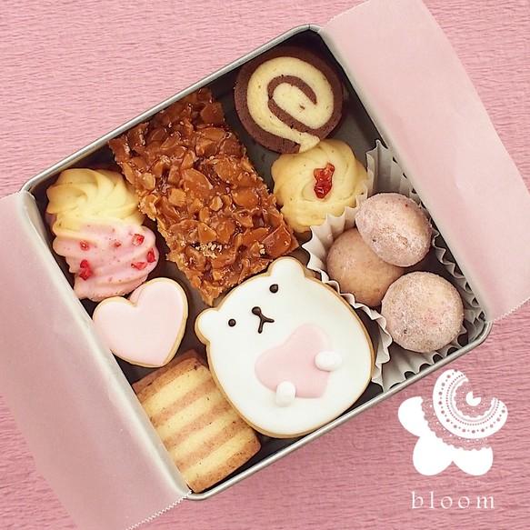 いちごのクッキー缶(大)