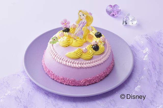【銀座コージーコーナー】<ラプンツェル>ドレスケーキ