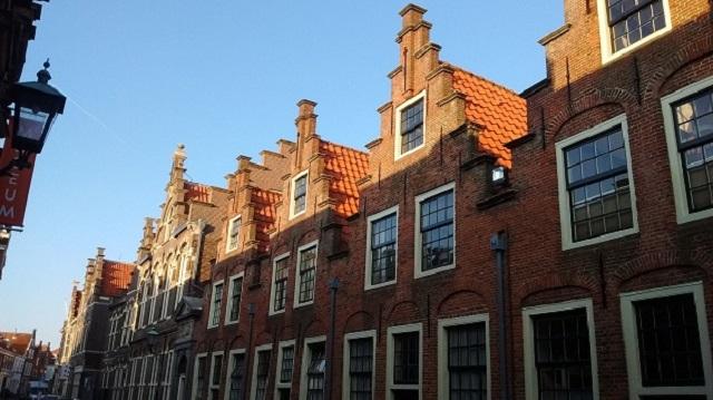 オランダ古都の街並み