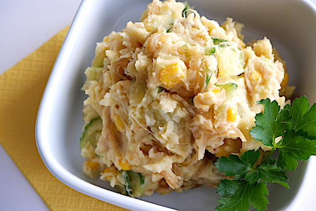 ポテトサラダ、レシピ、作り置き、アレンジ