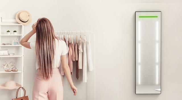 Project: NeSSA スマート姿見 スマート鏡 服かぶり 魔法の鏡 スケジュール連動 同じ服 同じ服着ない おしゃれ鏡 鏡 姿見