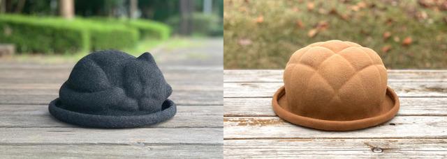 KENT HAT ケントハット 手作りハット ネコハット ネコ帽子 帽子 手作り帽子 ハンドメイド帽子 メロンパンハット メロンパン帽子 オムライスハット 食パンハット 食パン帽子