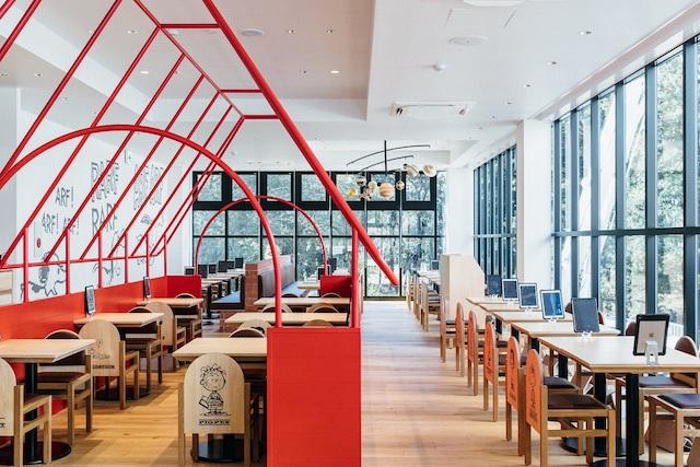 PEANUTS Cafe スヌーピーミュージアム