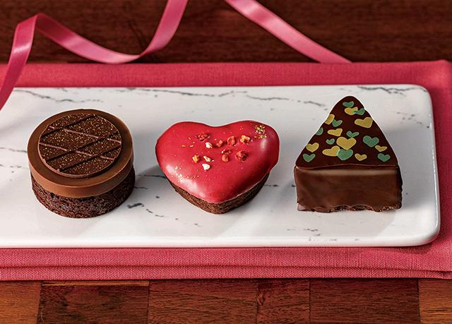 【銀のぶどう】バレンタイン期間限定新商品『トリプル ショコラ』