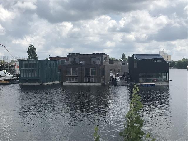 アムステルダムの水上集落「Schoonschip」
