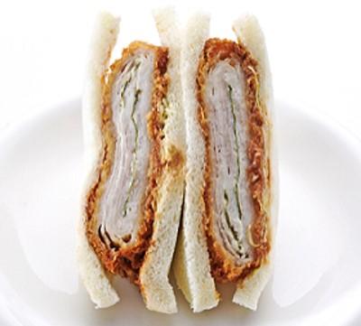 〈サンドイッチハウス メルヘン〉三元豚チーズ入りミルフィーユカツ