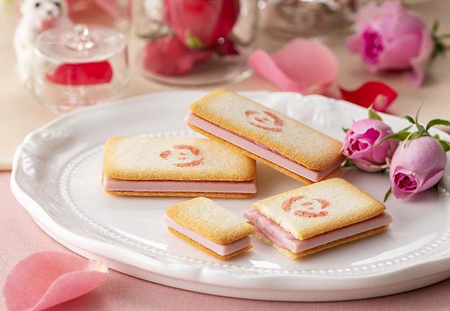 銀のぶどう春限定『バラ科のお菓子 ショコラ・ローズ』