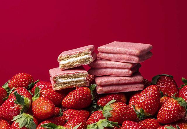 シュガーバターの木 春限定『いちごショコラがけサンド』