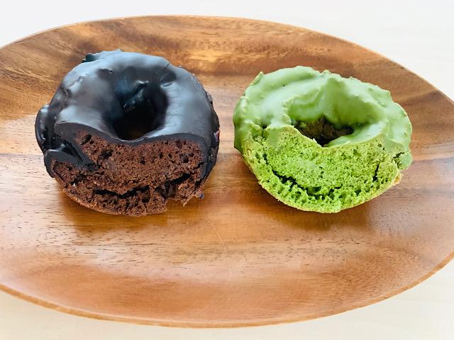 ケーキ生地2種