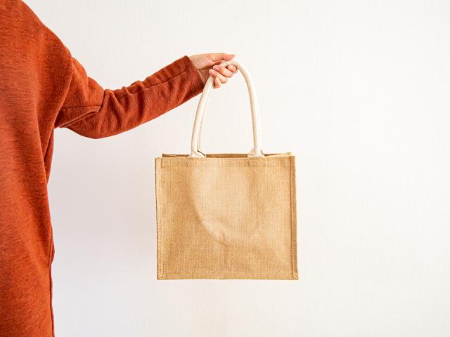 無印良品「ジュートマイバッグ」B5(小)