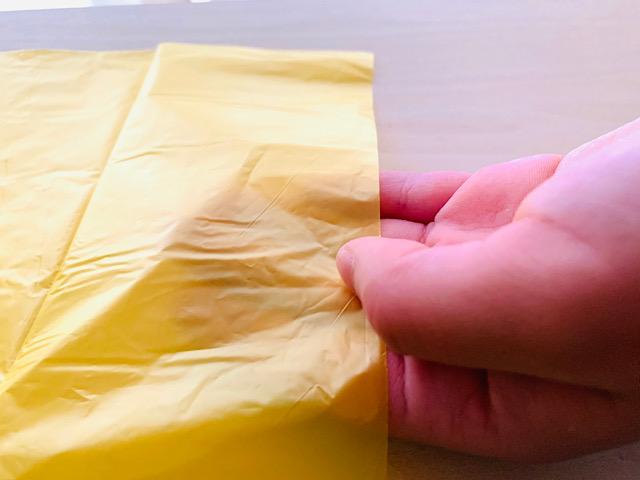 ゴミ袋黄色