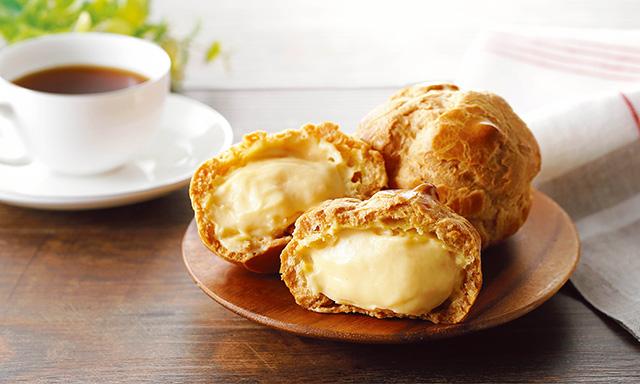 【クイーンズ伊勢丹】新商品「こんがりバター生地のカスタードシュークリーム」