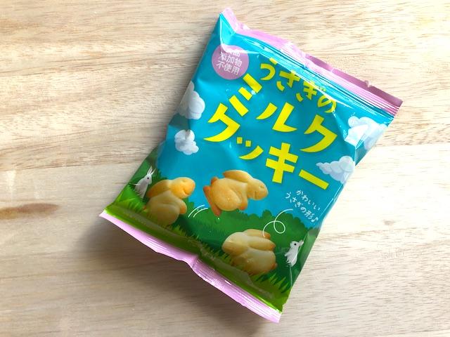 「カルディオリジナル うさぎのミルククッキー」パッケージ