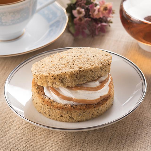 【ファミリーマート】アールグレイ香る紅茶のシフォンサンド 3月17日発売