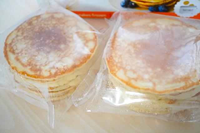 袋に入ったパンケーキ