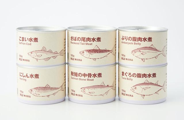魚の缶詰シリーズ6種